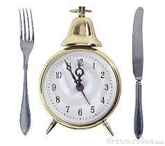 What time do you eat your last meal?