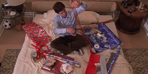 When do you wrap your Christmas presents?