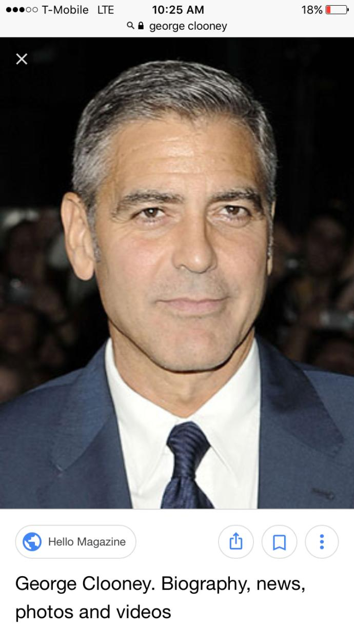Girls, How would you rate George Clooney?