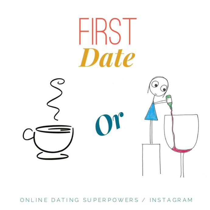 Coffee or Drinks on a First Date?