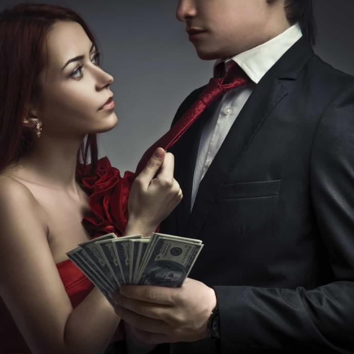 Why do men (or sugar daddies) go after gold diggers instead of potentially awesome women?
