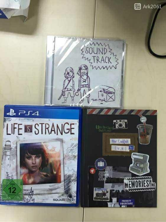 does anyone own Life is strange limited edition and want to sell as well??