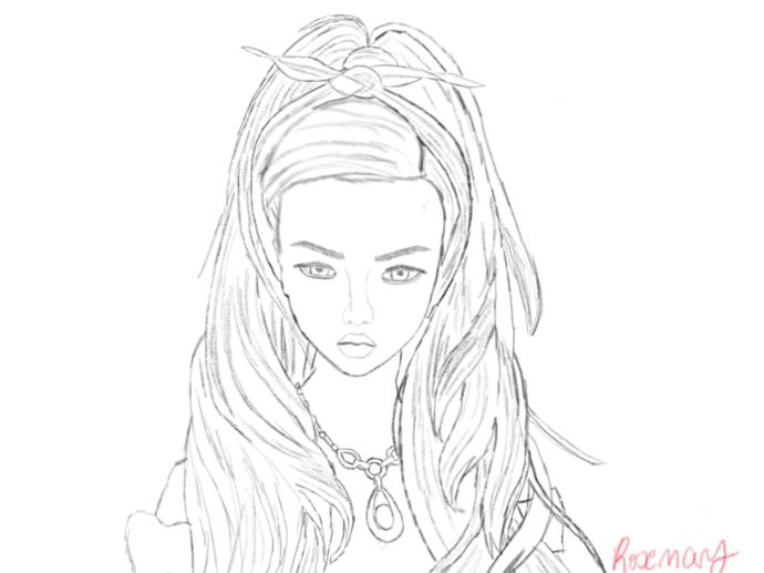 What do you think of my sketch?