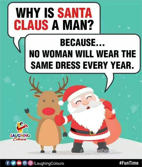 Why was Santa a man not a women??