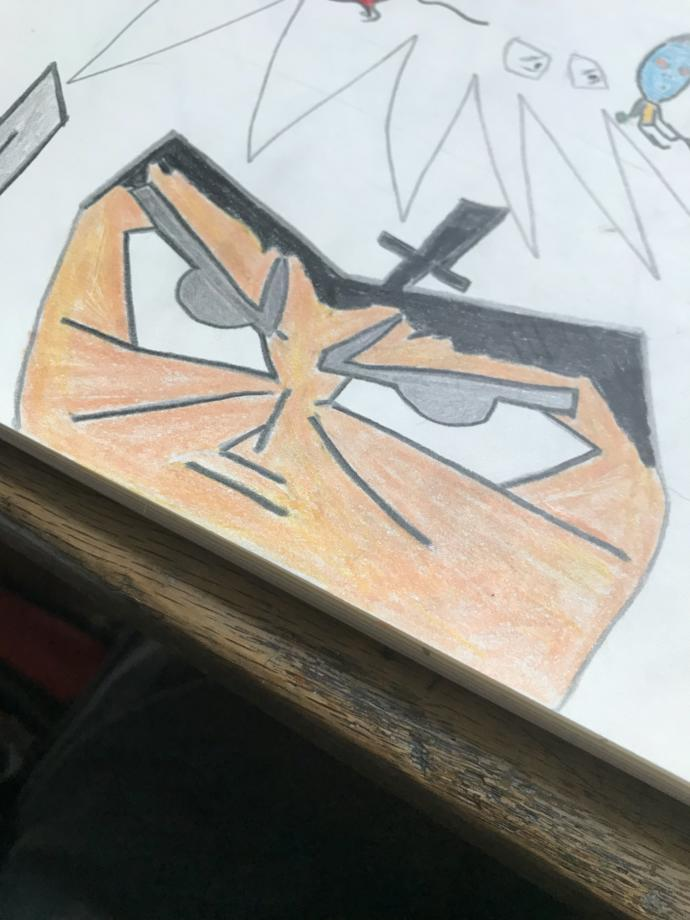 What do you think of this drawing of Samurai Jack ?