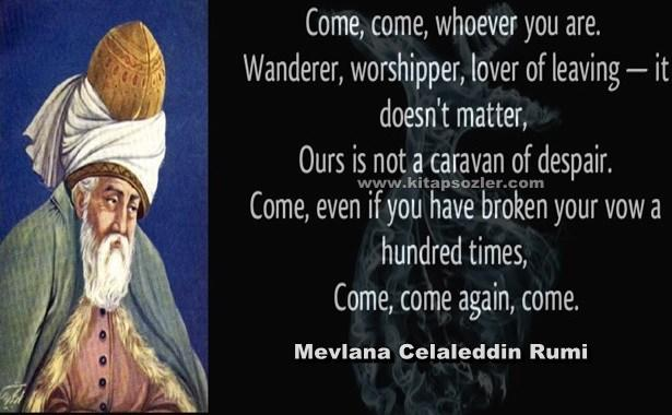 what do you know about Mevlana Celaleddin Rumi ?