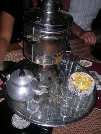 Do you like tea of semaver?