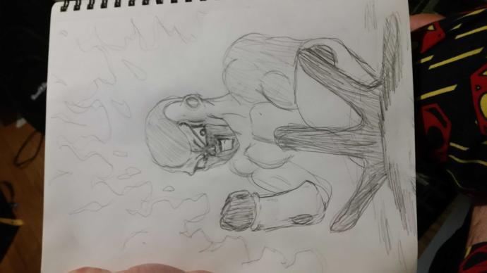 Should I stop drawing him??