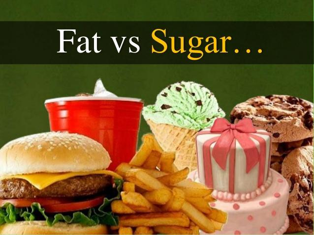 Does your diet consist of a higher intake of fat or sugar?