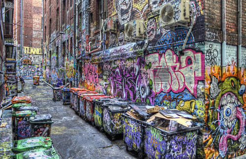Is Graffiti Art or Vandalism?