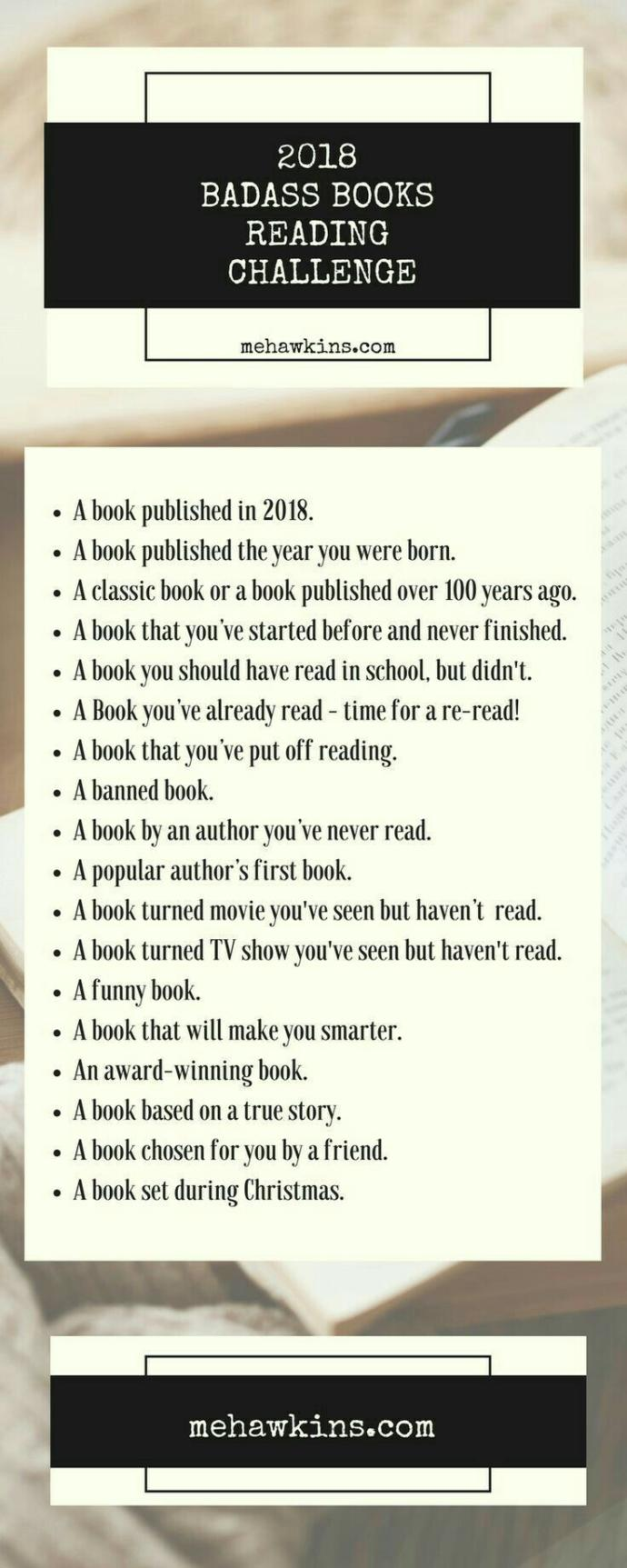 Readers: are you doing a reading challenge this year??