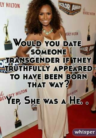 Would you date a transgender woman