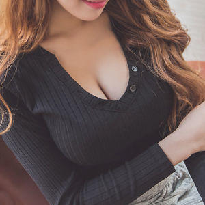 Why do women show cleavage?