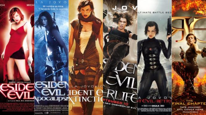 #FeelFreeToList or choose your fave Resident Evil movies?