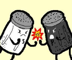 Pepper vs Salt. Which do you prefer more?