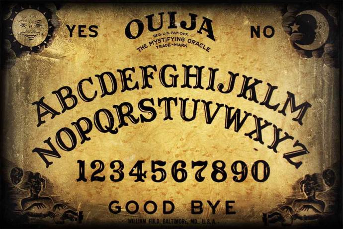 Do some people really believe that a Ouija board works?