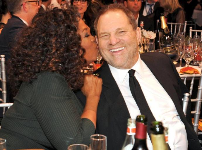 Where was Oprah, the most powerful woman in Hollywood, 6 months ago?