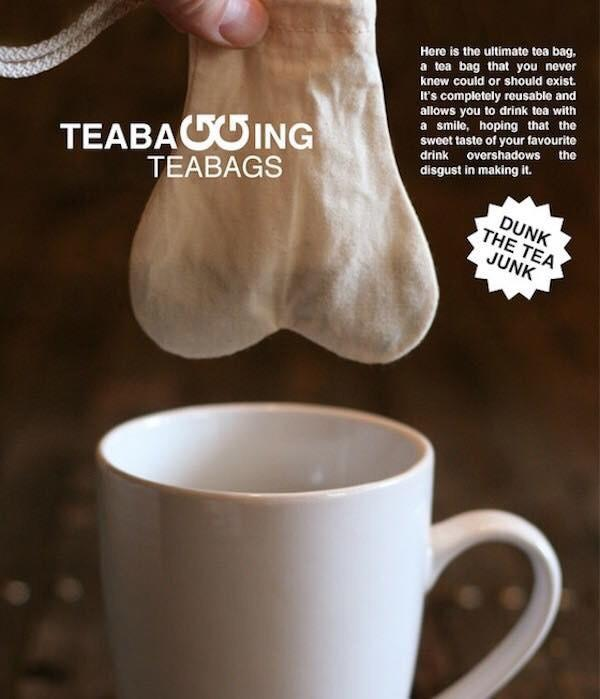 Would you buy this teabagger?