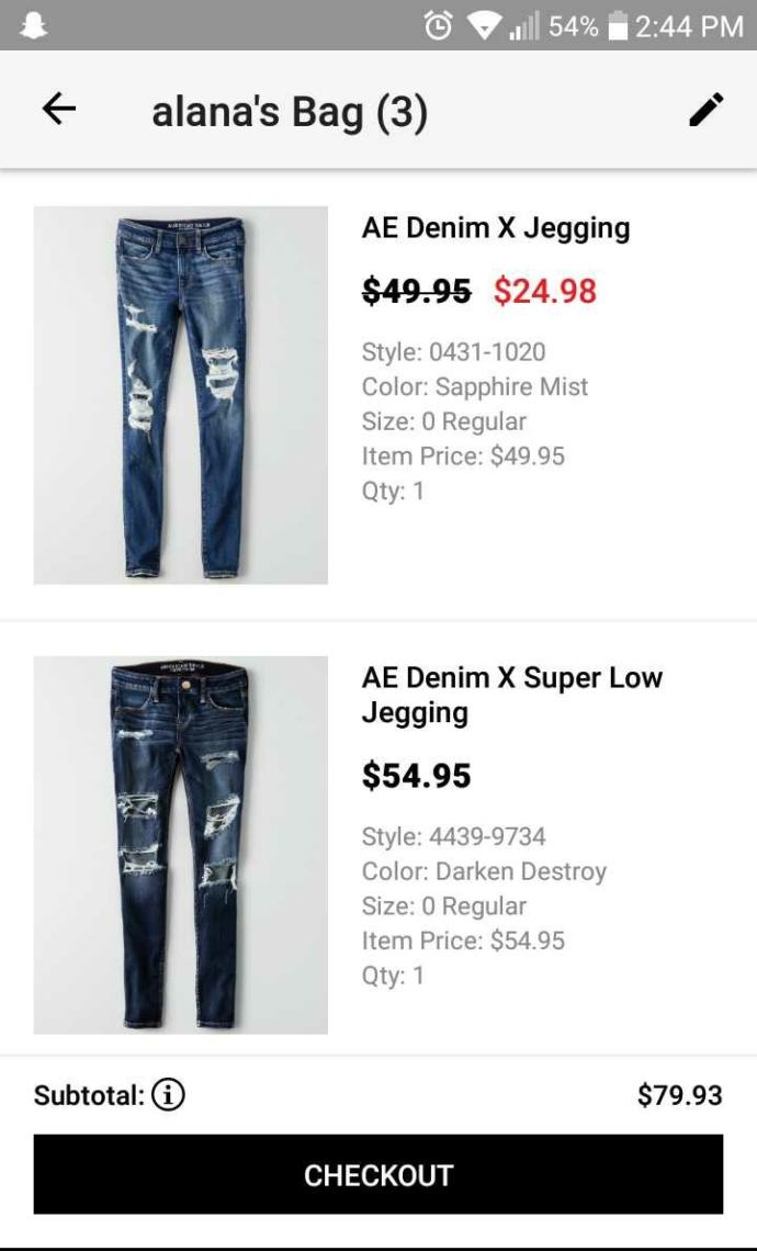 Anyone have any opinions on American Eagle jeans??