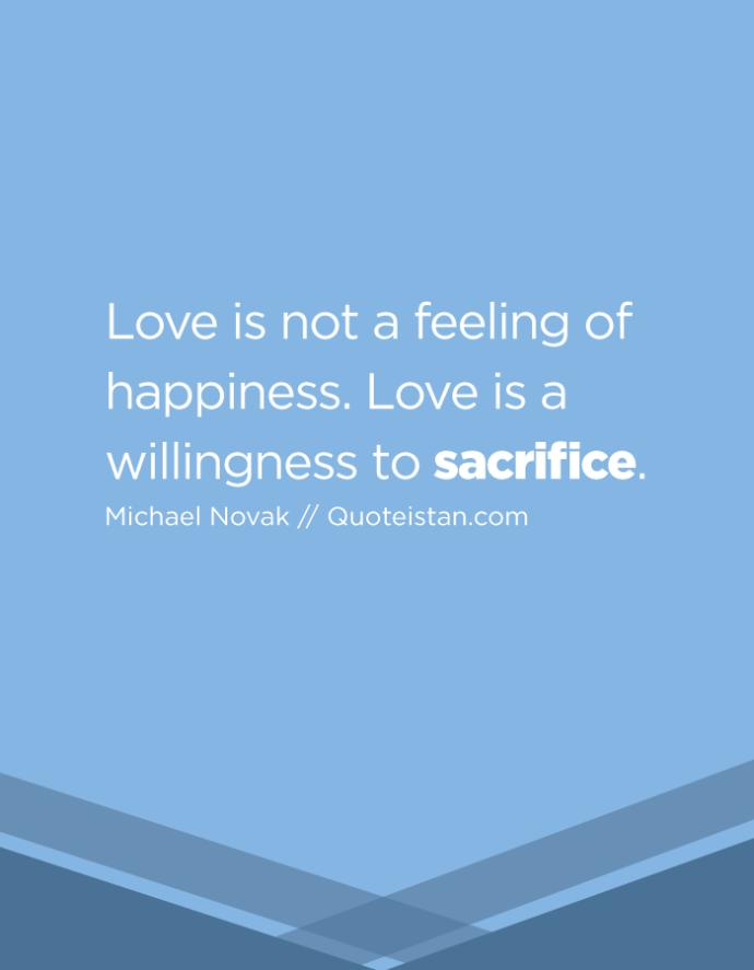 What would you be willing to sacrifice for love?
