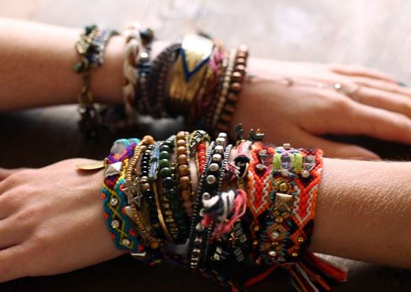 Do you like lots of bracelets?