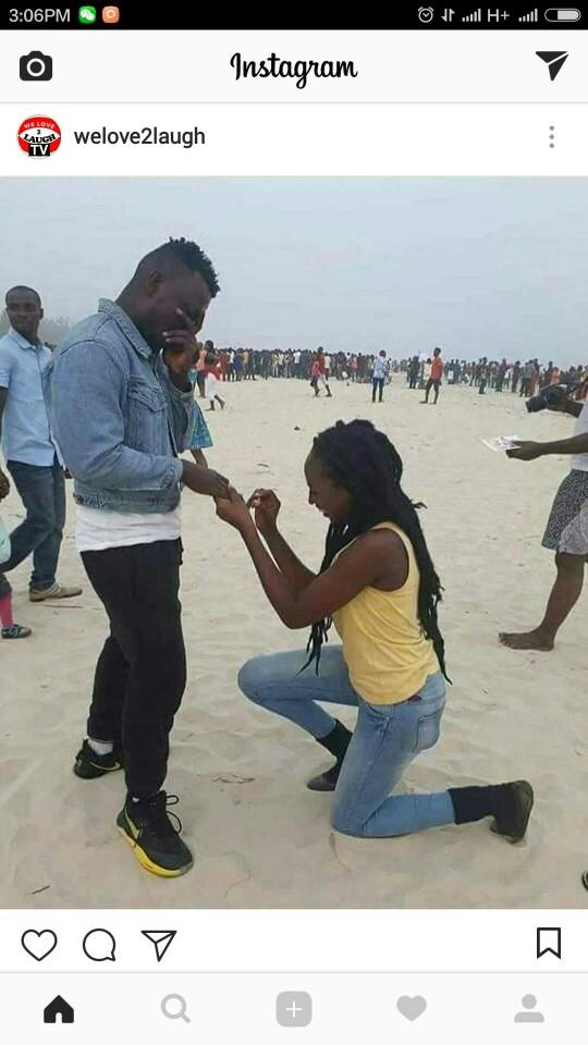 What do you think about women who propose to men??