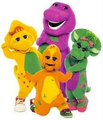 Did you ever watch Barney as a kid?