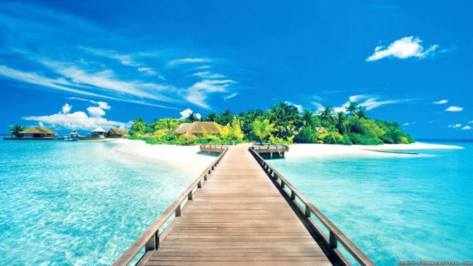 When you think of the word 'paradise' what comes to mind?