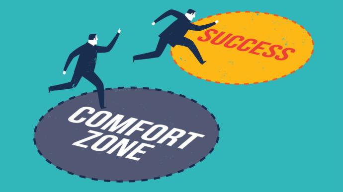 How often do you go outside your comfort zone?