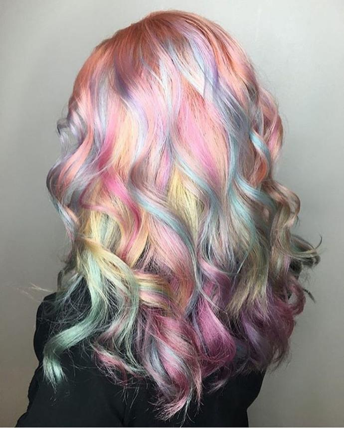 What are your thoughts on coloured hair?