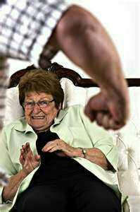 What would you do if you worked in a nursing home and witnessed this??