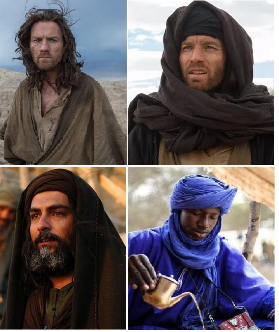 Why do Star Wars characters wear Middle-eastern clothing?
