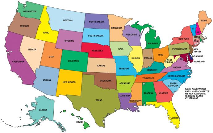 What do you call someone from Maine, Illinois, or Utah?