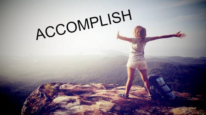 What do you want to accomplish most in life?