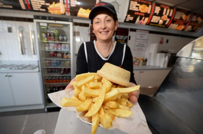 What would you order at your favourite Chippy prior to watching the Football ( Go Villa!!!!!!!!!)?