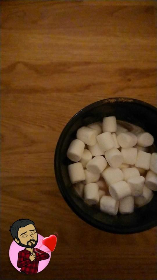 Who doesn't love Hot Chocolate with Marshmallows!??