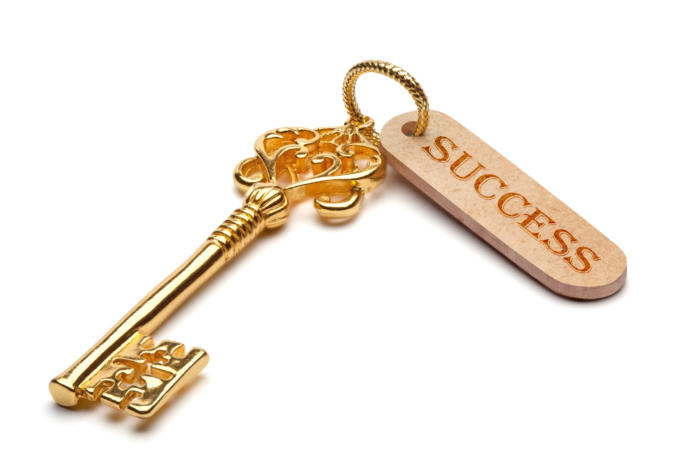 What does your key to success look like?