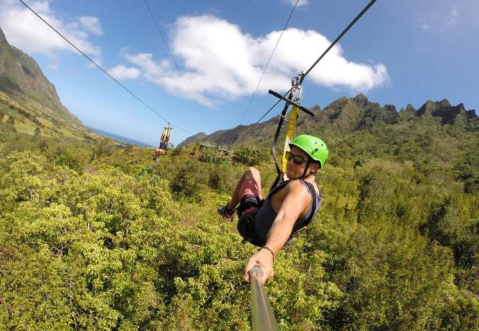 Zip lining: Have you done it? If not, would you?