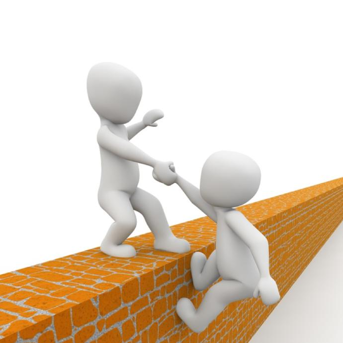 Do people have an obligation to help others or should people be responsible for helping themselves?