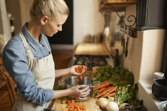 Would you consider cooking to be a 'feminine' trait?