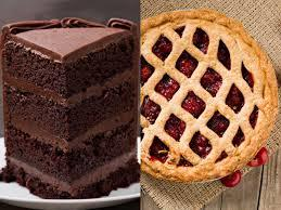 What do you like more? Cake or pie?