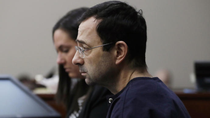 Larry Nassar sentenced to 40 to 175 years in prison for sexual assault, thoughts?