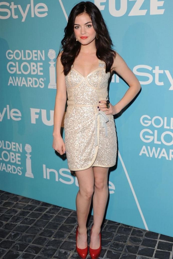 Lucy Hale at 2014 or Lucy Hale now?