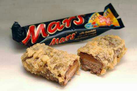 Fried Mars bar vs Nutella pizza slice??