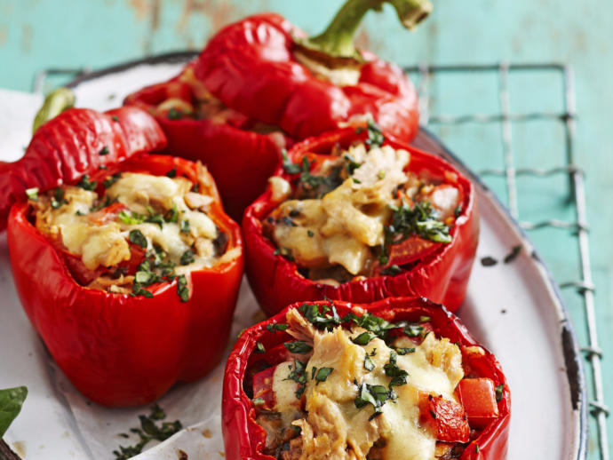 If you are a fan of stuffed Capsicums (Peppers) as a culinary treat. What do you like to put in them?