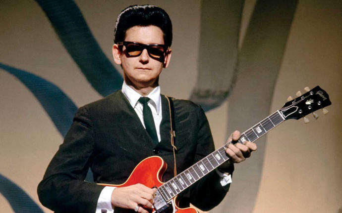 Did you you know Mr. Orbison dyed his hair?