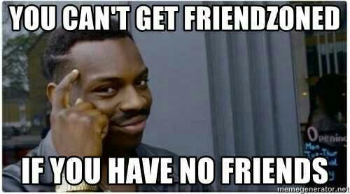 """The """"friendzone"""" vs """"you aren't her type"""": do you know the difference when you see it??"""