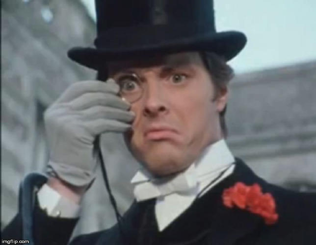 Girls, would you date a guy who regularly wore a suit, gloves, top hat, bow tie and a monocle?