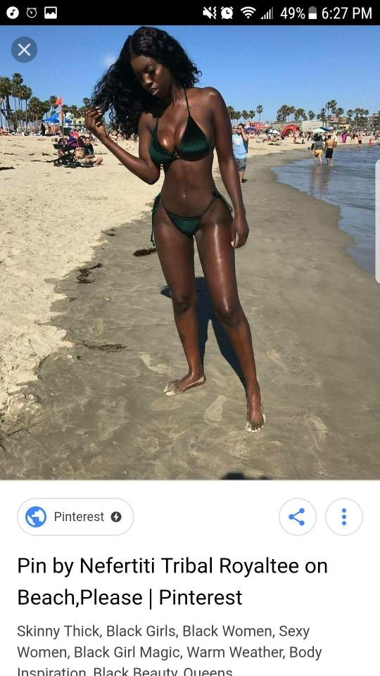 Body type is more of picture number one, but his pretence is picture (girl on of the beach)#2..picture inside???????????????