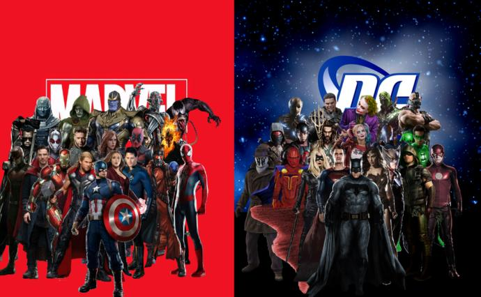 Marvel Vs DC - Can DC catch up with their promising line up?